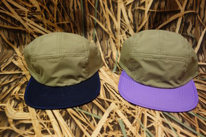 2 TONE 3LAYER CAMP CAP