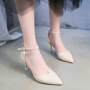 【shoes】上品らしい切り替え合わせやすいレディースパンプス 23186981