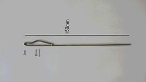 ネット網針ステンレス製 らくらく網針 補修用針1本 長さ150mm 送料込
