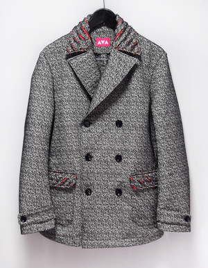 【SALE25%off】Melange wool Pea coat 28000yen→21000yen