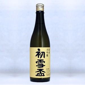 初雪盃 40%純米大吟醸 720ml