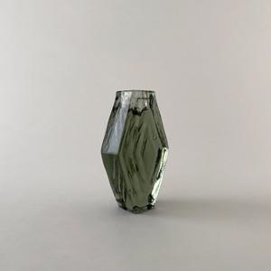 Candle Holder Infinite Hexagon Smokey Green キャンドルホルダー