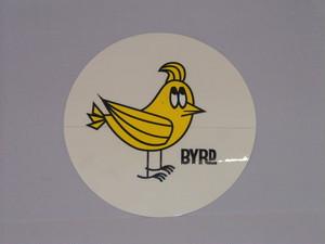 BYRDステッカーMr.バードサークル(L)