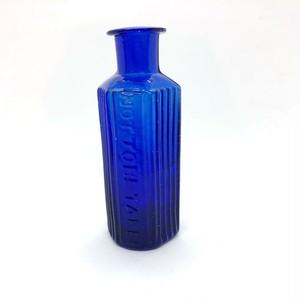 青い毒薬瓶(小)