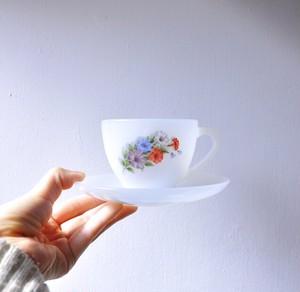 【ティーカップ&ソーサー】アルコパル ペチュニア made in france