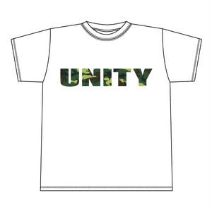 UNITY Tee Camo b [WHITE x Green camo][1401-b]