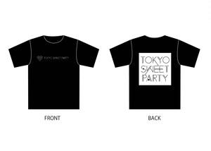 トスパリ公式Tシャツ(ブラック)