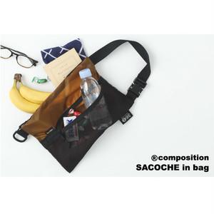 36⑤サンロクマルゴ ®️コンポジションSB-1805CR  サコッシュインバッグ