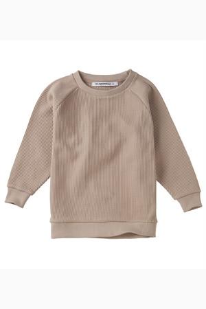 MINGO.  Sweater Favo Fawn