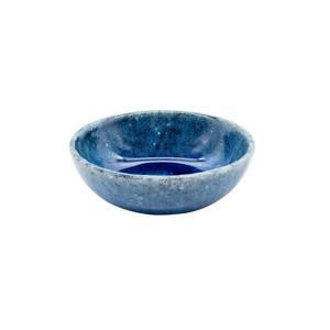 aito製作所 「トルコ釉」 浅 ボウル 皿 約9cm SS ブルー 美濃焼 564107