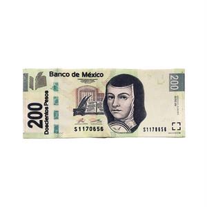 200 Peso Paper Wallet