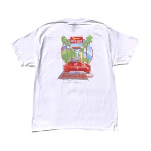 IN-N-OUT BURGER 1987 TEE - white