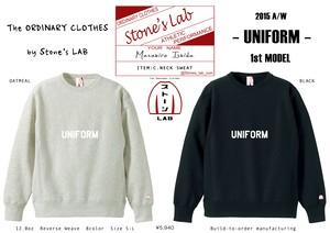 【完全受注生産】クルーネックスウェット「UNIFORM」1st MODEL 12.0oz