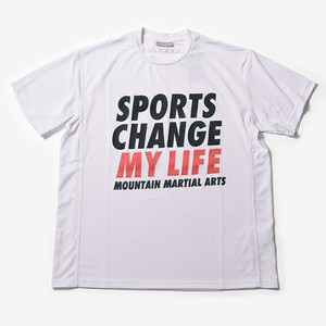 MMA Sports Change My Life Big Tee (White)