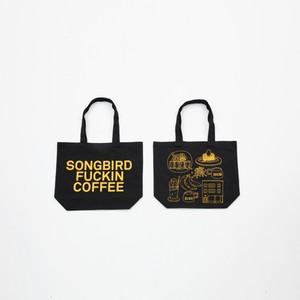 Anoraks | SONGBIRD FUCKIN COFFEE TOTE Anoraks Size [Black+Yellow]