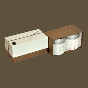 小缶2本箱 八十八夜の茶/和紅茶