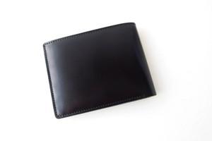 モリヤ|moriya|コードバン折財布|ブラック