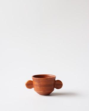 小さな植木鉢(ブラウン)