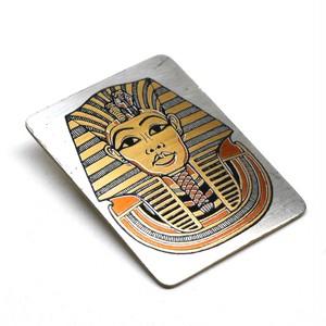 Reed & Barton Vintage Pewter Pharaoh Brooch