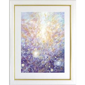 『内なる神殿の炎』【神聖】太子額入ヒーリングアート