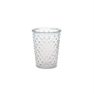 フラワーベースにもなるガラスのポット【ぽつぽつ】