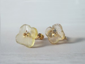 glass FLOWER【earrings】09