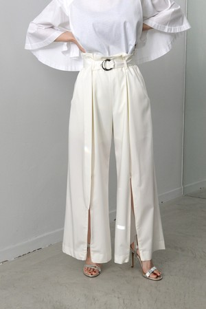 koll / slide  slit trousers