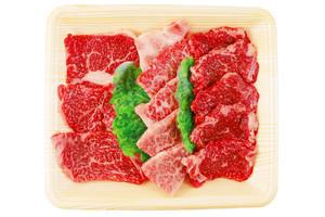 旭志牛お試しセット(上肩ロース焼肉用100g、上バラ焼肉用100g、モモ焼肉用100g)