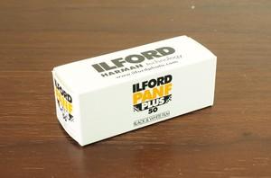 【120 モノクロネガ】ILFORD(イルフォード)  PAN F PLUS 50