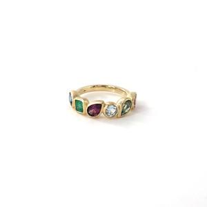 Mystic 6 stones Ring