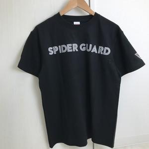 「SPIDER GUARD」Tシャツ ブラック