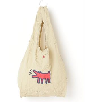 KHB-KH2001【Keith Haring/キースヘリング】Market Eco Bag  (LARGE)