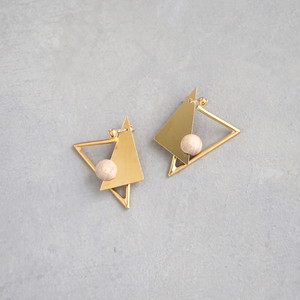 pierced earrings MP-04/earrings ME-04<gold>