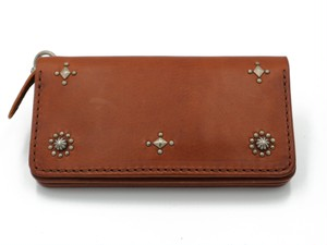 STUDS LONG WALLET (CROSS & SUN)