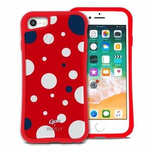広島カープ ドット セット WAYLLY(ウェイリー) iPhone 8 7 XR XS X 6s 6 Plus XsMax対応!_MK_