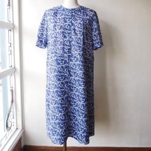 vintage summer  blue dress