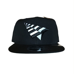 PAPER PLANES New Era Snapback  / Black×White