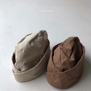 『翌朝発送』marina kids hat〈oatmeal〉