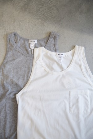 【BETTER】POCKET TANK TOP