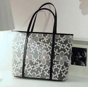 【accessories】Summer fashion lace tote shoulder bag