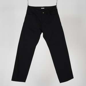 WIDE DENIM PANTS OW (BLACK) / GAVIAL