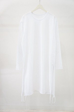 Tied Long Sleeve -WHITE- / Ground Y