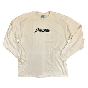 """FOS 20/20  """"20/20"""" L/S Tee NATURAL"""