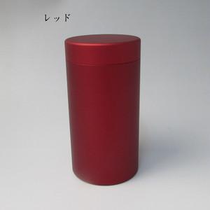 ミニ骨壷With(ウィズ)60h 直径60mm×高115mm レッド【日本製】