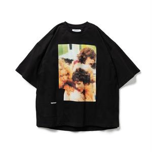 TIGHTBOOTH 3PM S/S T-SHIRT BLACK