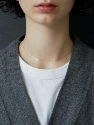 adjustable venetian necklace gold K10 (新作)