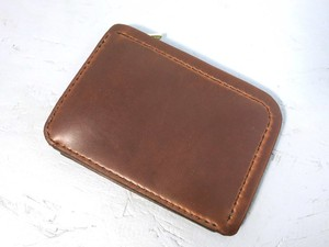 小銭&カードケース チョコレート