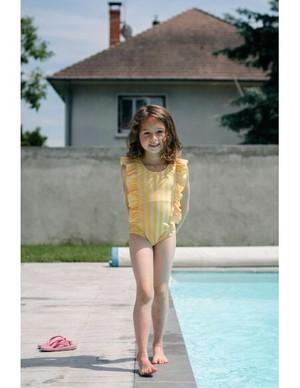 【20SS】ゾジオ(ZOZIO) Emmaswimwear[S / M / L ]yellow  stripe 水着 スイムスーツ
