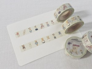 su-su ぐりくまちゃんマスキングテープ 2個set