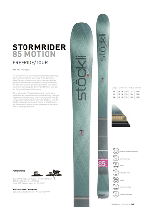 18'-19'|STORMRIDER 85 MOTION / MX13 silver-black